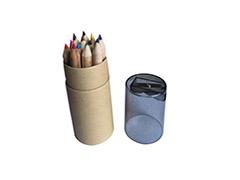 12色環保鉛筆-3.5吋